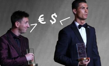En combien de temps Messi ou Ronaldo gagne ton salaire ?
