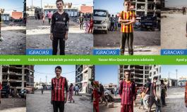 """Opération """"La Ligue de Zakho"""" par Marca pour Action contre la faim"""