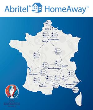 City-guides Abritel x PKFoot pour l'Euro 2016