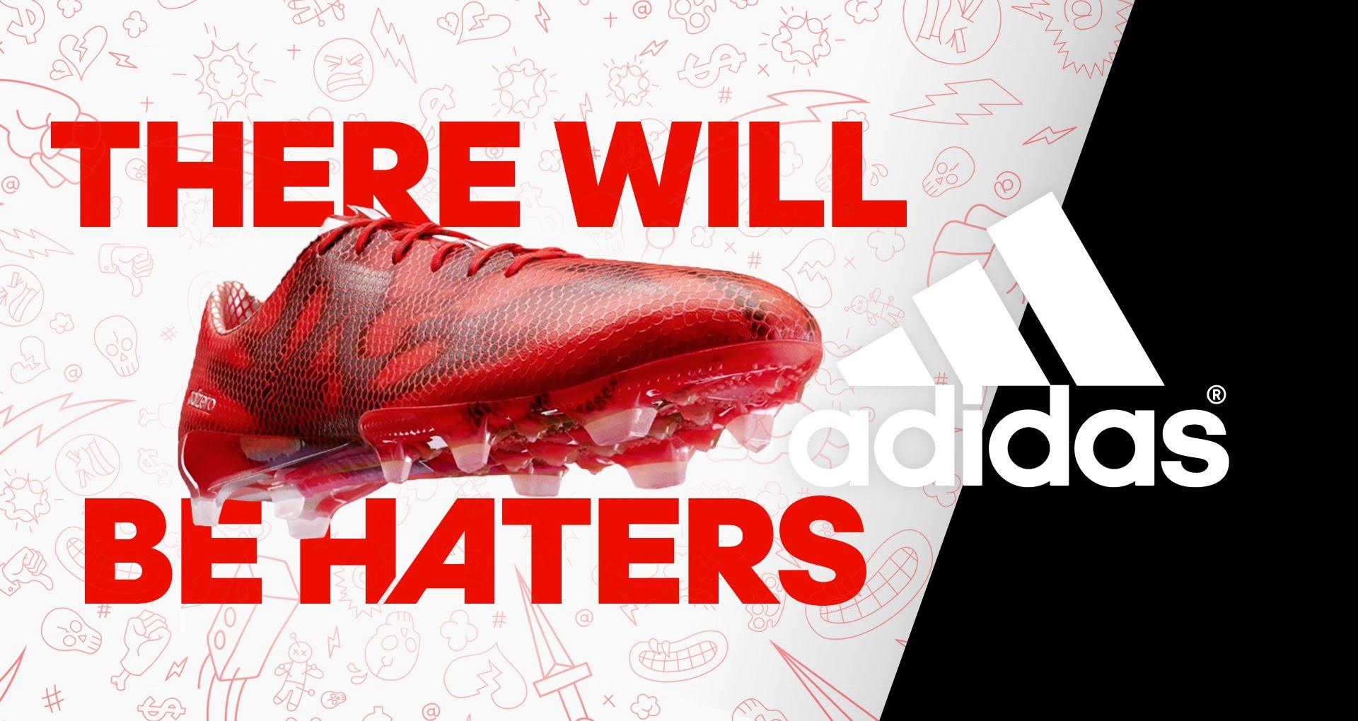 Deviens un Hater avec adidas et remporte ta paire de F50