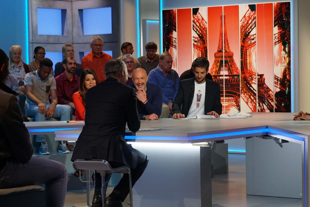 J'ai assisté au tournage de l'Affiche de la semaine sur TF1