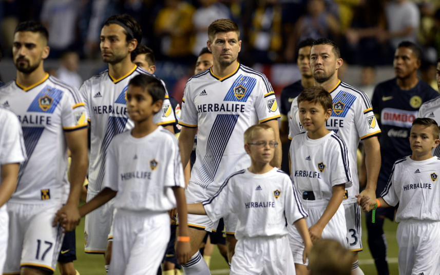 Les 10 plus belles photos des débuts de Steven Gerrard aux LA Galaxy