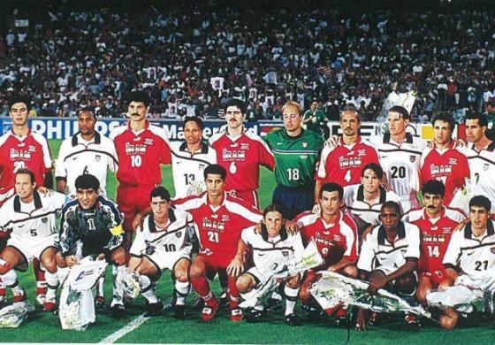 Usa iran la coupe du monde 98 un match sous haute tension - Joueur coupe du monde 98 ...