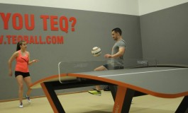 Le Teqball, entre ping-pong et football