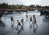 """Série """"Football Fever"""" de Steve McCurry"""