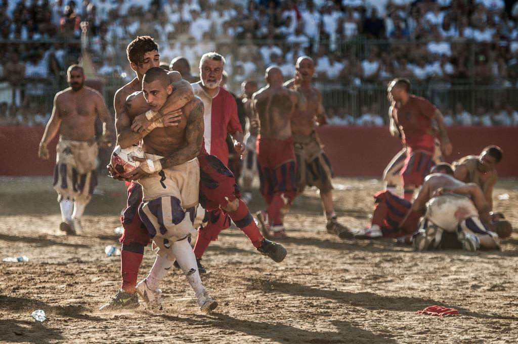 Le Calcio Florentin ou le football sans règles