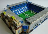 Il recrée les stades anglais en Lego