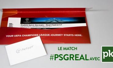 Gagne ta place pour PSG - Real Madrid sur PKFoot avec Nissan