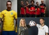 Les premiers maillots de l'Euro 2016 se dévoilent
