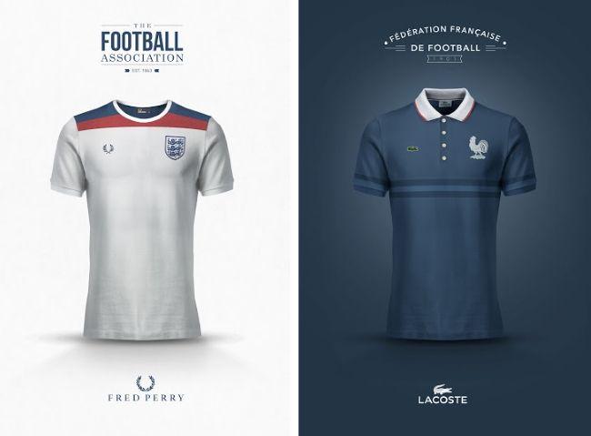 Les maillots de football dessinés par des marques de mode