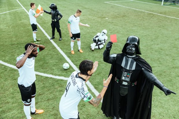Des personnages de Star Wars à Cesena pour un calendrier caritatif