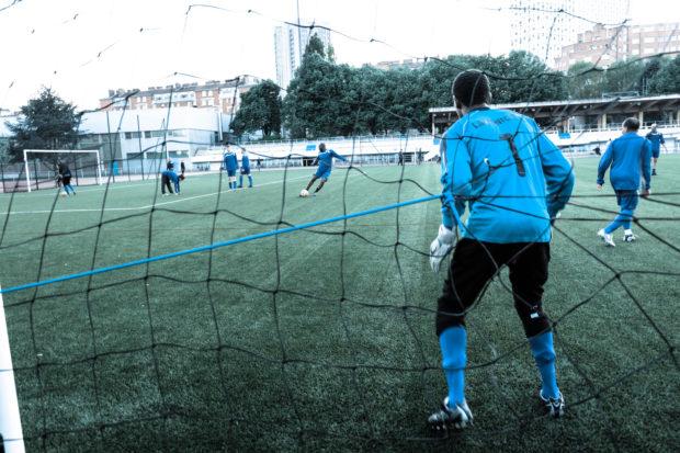 Les Restos du Coeur et la réinsertion par le football