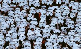 La chorégraphie Star Wars des fans du CSKA Sofia
