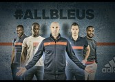 Gamme #ALLBLEUS16 d'adidas en vue de l'Euro 2016