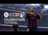 Compilation des célébrations dans FIFA 14