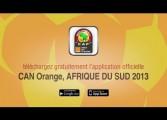 Découvrez l'application mobile CAN 2013 et gagnez le ballon officiel