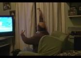 Être un supporter de River Plate devant sa télé