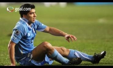 Luis Suarez plonge et marque (encore) lors de Bolivie/Uruguay