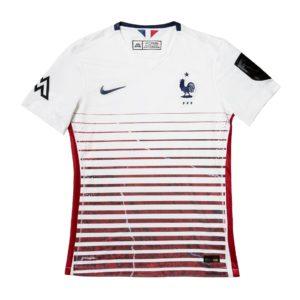 Série de maillots FFF par Le Ballon FC x Mbroidered