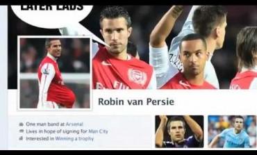 Parodie du profil Facebook de Robin Van Persie