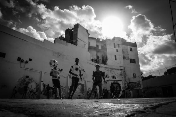 Andy Scaysbrook fait découvrir le football à Cuba