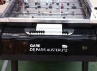 Entretien avec Aude-France Rousseau (SNCF) sur le dispositif des baby-foot en gare