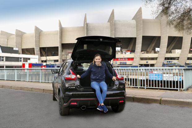 Laure Boulleau nouvelle ambassadrice de Nissan