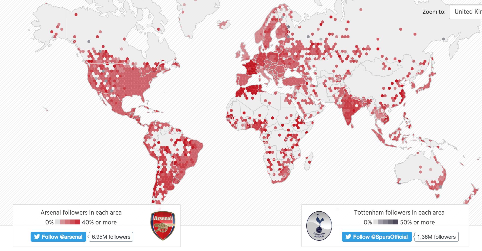 d336b0bd718 Quels sont les clubs anglais les plus suivis sur Twitter dans le monde
