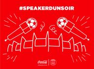 Coca-Cola te permet de devenir speaker au Parc des Princes