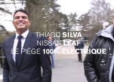 Thiago Silva piège Pierre Ménès au volant d'une Nissan LEAF