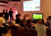 Gros succès pour l'appartement Domino's Pizza et PKFoot lors de Chelsea/PSG