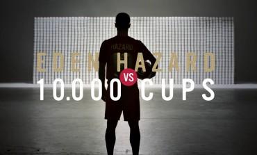 Eden Hazard affronte 10 000 tasses à café pour Lotus
