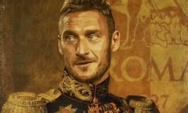 Il dessine les joueurs de l'AS Roma comme des empereurs