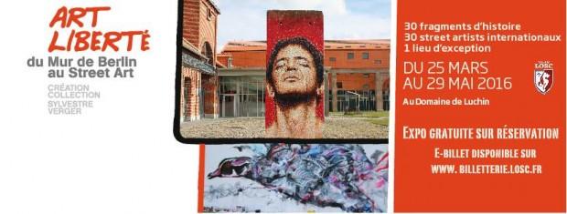 """L'exposition """"Art Liberté"""" fait le siège du LOSC"""