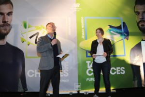 On a participé au lancement de New Balance Football en France