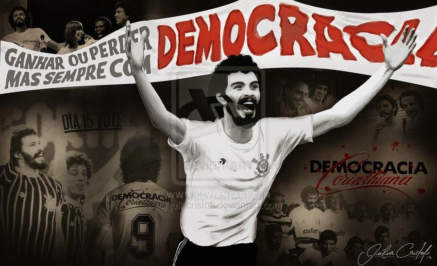 La Démocratie Corinthiane s'invite de nouveau  dans le débat politique au Brésil