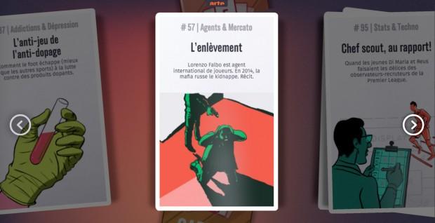 Hors-Jeu, la collection des documentaires foot d'investigation d'Arté