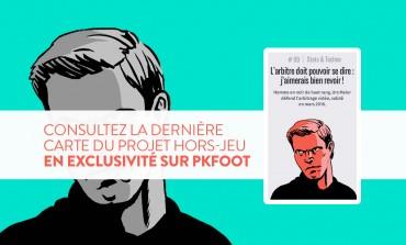 Une carte exclusive du projet #HorsJeu d'Arte avec PKFoot