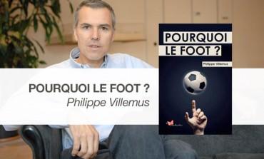 """J'ai lu """"Pourquoi le foot ?"""" de Philippe Villemus aux éditions du Papillon Rouge"""