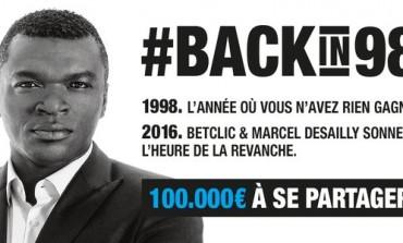 Betclic part a la recherche des bons pronostiqueurs de 1998 #backin98