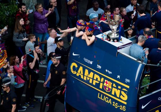 Tour d'Europe: le Barça champion, Manchester United ridicule
