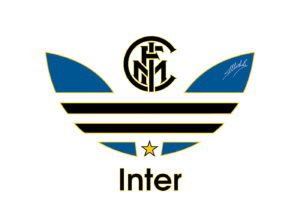 Cet artiste détourne le logo d'Adidas Originals avec les clubs de Serie A