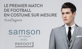 Gagnez votre place pour le match le plus élégant de l'Histoire du football, par Samson