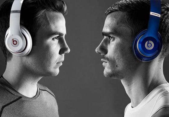 Antoine Griezmann égérie de Beats dans leur dernière publicité