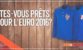 Retrofootball.fr vous fait gagner un maillot vintage de l'équipe de France