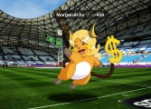 Un illustrateur marseillais imagine ce que donnerait Pokemon GO au Vélodrome