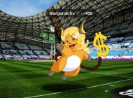 Un illustrateur marseillais imagine ce que donnerait Pokemon GO au Vélodrome