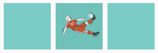 Pickles Magazine a illustré les 51 matchs de l'Euro avec l'aide de 51 artistes