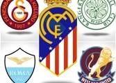 Et si on fusionnait les blasons de ces 8 clubs rivaux ?