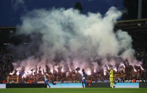 Ambiance irréelle hier lors de Hertha Berlin / Brondby en Europa League